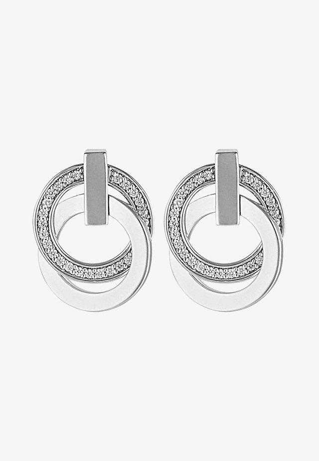 SWING - Earrings - silver coloured