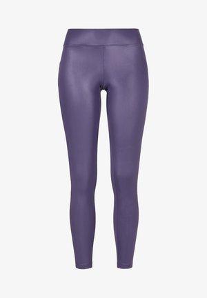 Leggings - Trousers - darkduskviolet