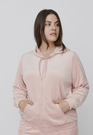 MHELENA - Zip-up hoodie - rose