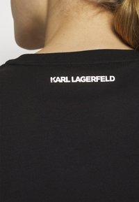 KARL LAGERFELD - MINI IKONIK KARL PATCH - T-Shirt print - black - 5