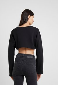 Fiorucci - VINTAGE ANGELS CROPPED  - Mikina - black - 2