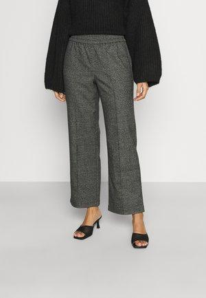 ONLPOPTRASH SUKI WIDE - Pantaloni - black