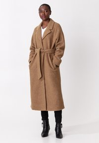 Indiska - Classic coat - camel - 3