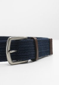Polo Ralph Lauren - BRAIDED FABRIC STRETCH - Ceinture - navy - 3