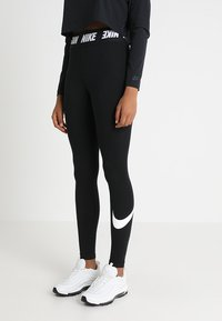 Nike Sportswear - CLUB  - Legging - black/white - 0