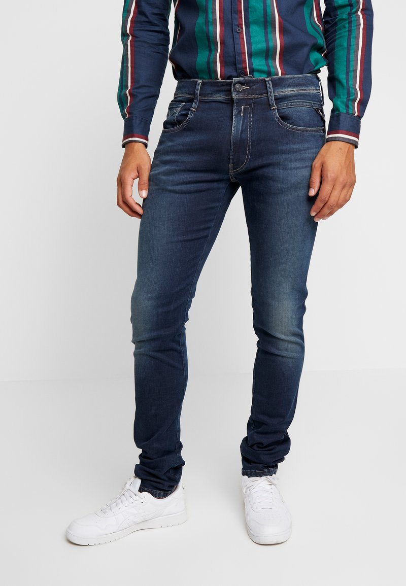 Replay - ANBASS HYPERFLEX - Slim fit jeans - dark blue