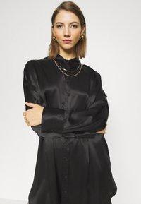 10DAYS - TUNIC DRESS - Day dress - black - 3