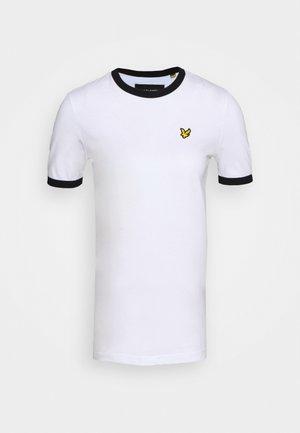 RINGER  - Print T-shirt - white