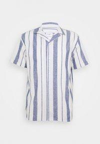 Les Deux - SIMON - Shirt - offwhite / cobalt blue - 4