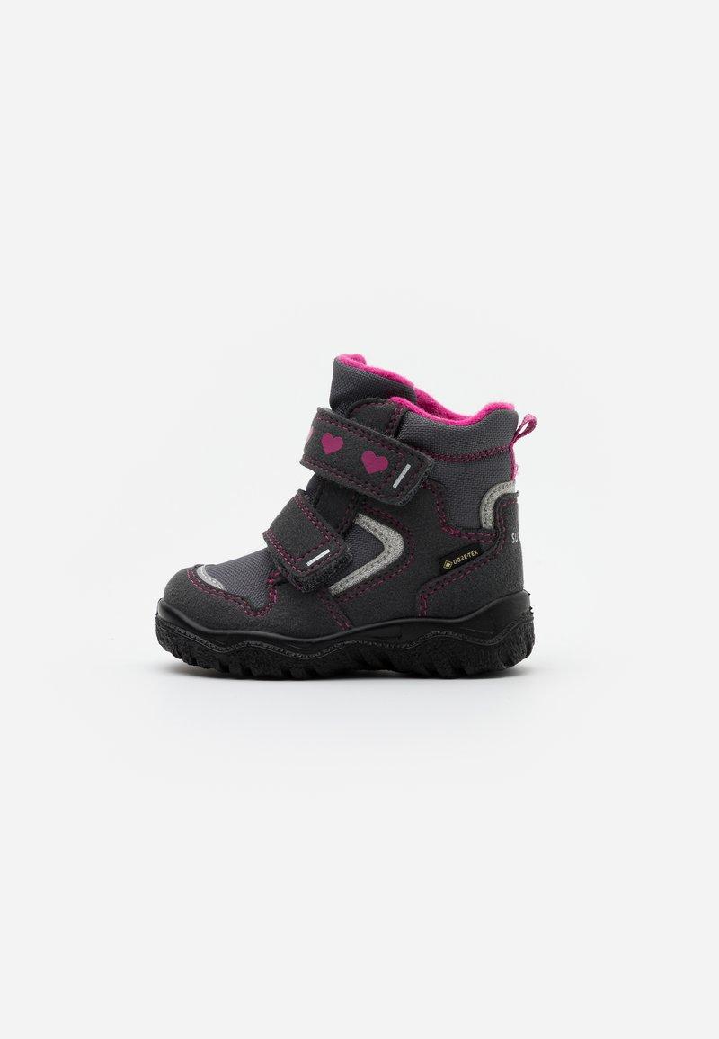Superfit - HUSKY - Zimní obuv - grau/rosa