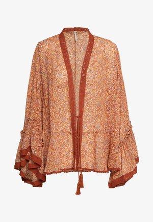 LOLA KIMONO - Summer jacket - brown