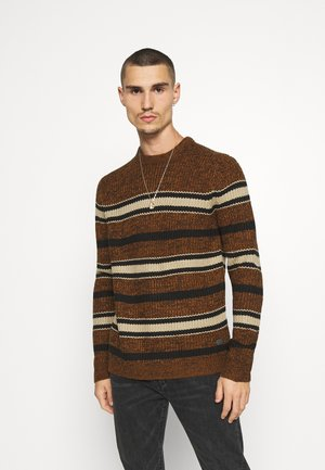 ONSLESCO STRIPE  - Jumper - monks robe