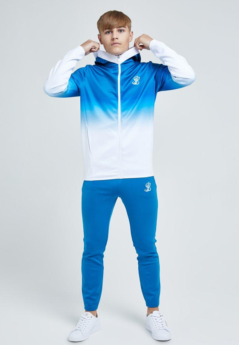 Illusive London Juniors - Tracksuit bottoms - blue & white