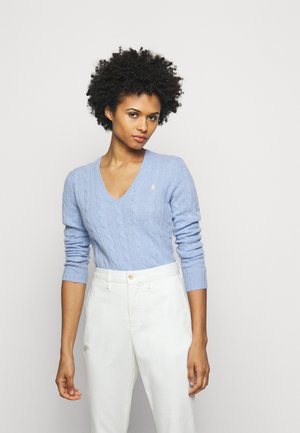 Pullover - light blue heather