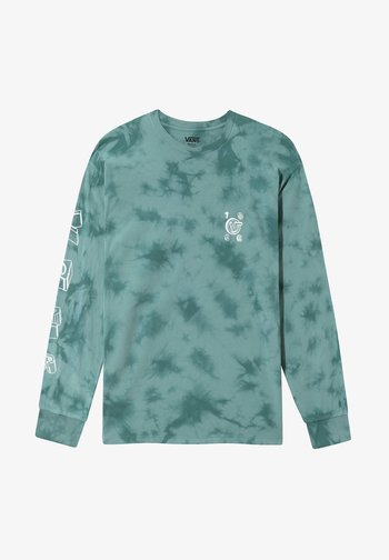 MN DODLE VANS TIE DYE LS - Long sleeved top - jasper/tie dye
