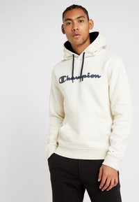 Champion - HOODED - Hoodie - off-white - 0