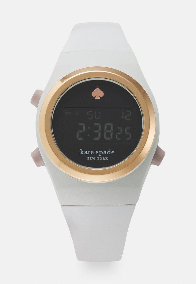 RUMSEY - Digitaal horloge - white