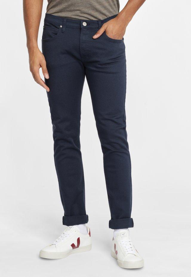 LUKE - Spodnie materiałowe - dark grey