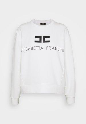 Sweatshirt - avorio/nero