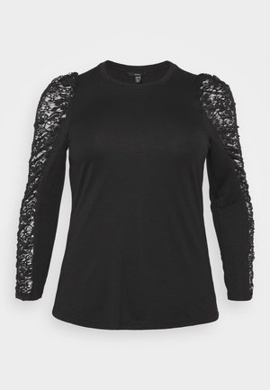 VMSANDREA BLOUSE - Long sleeved top - black