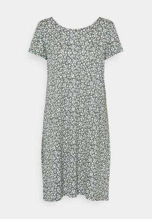 ONLBERA BACK DRESS - Jersey dress - balsam green