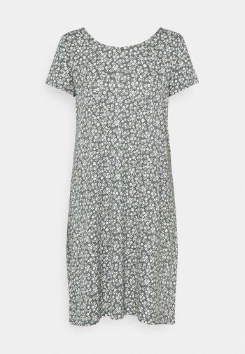 ONLBERA BACK DRESS - Trikoomekko - balsam green