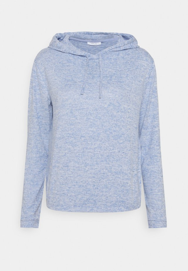 SANONA SOFT - Bluza z kapturem - blue mood