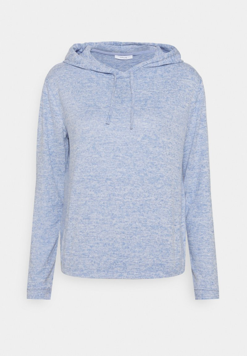Opus - SANONA SOFT - Jersey con capucha - blue mood