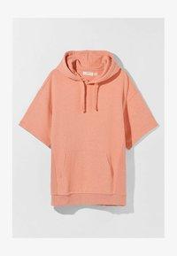 Bershka - Print T-shirt - orange - 4