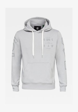 CORE GRAPHIC HOODED LONG SLEEVE - Hoodie - correct grey