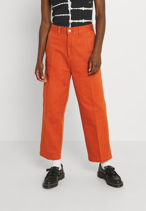 CARPENTER PANTS - Relaxed fit jeans - ginger