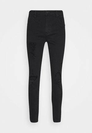RIPPED SLIM  - Jeans Skinny Fit - black