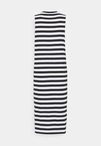 Even&Odd - Vestito di maglina - black/white - 7