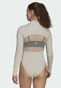 adidas Performance - Leotard - mottled beige - 2