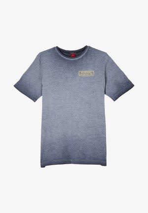 MET KLEUREFFECT - Print T-shirt - blue