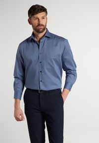 Eterna - COMFORT FIT - Shirt - blau/marine - 0