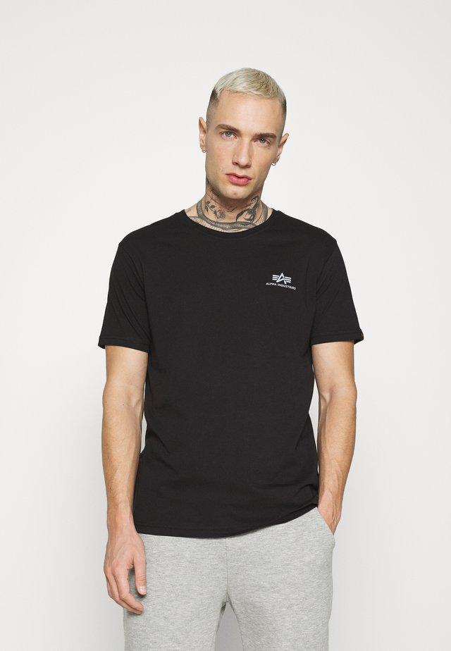 REFLECTIVE PRINT - Print T-shirt - black/reflective