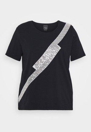 VANDA - T-shirt con stampa - blue