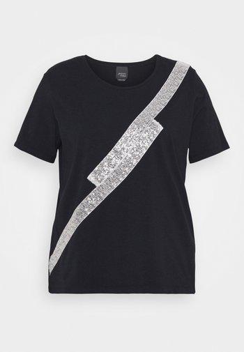 VANDA - Print T-shirt - blue