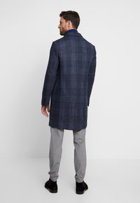 Tommy Hilfiger Tailored - UNLINED CHECK OVERCOAT - Manteau classique - blue - 2