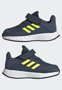 adidas Performance - DURAMO SL SHOES - Sports shoes - crew navy/solar yellow/halo silver - 5
