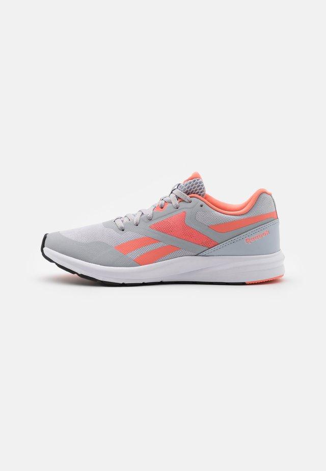 RUNNER 4.0 - Zapatillas de running neutras - coral/pure grey/cold grey