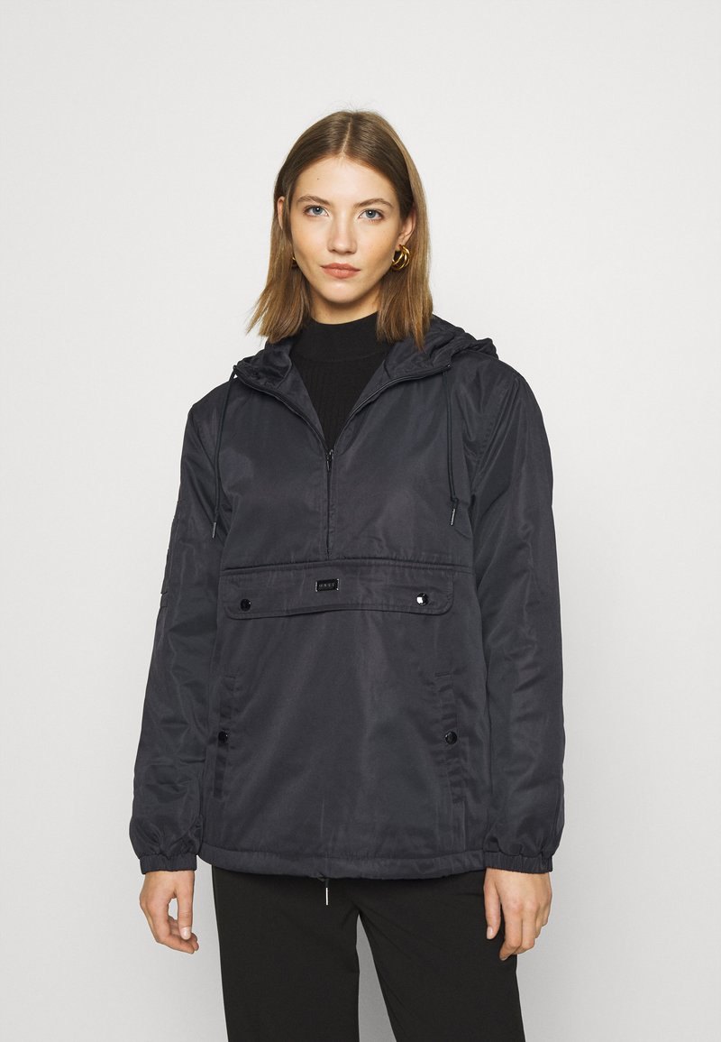 Obey Clothing - RIPPLE ANORAK - Windbreaker - black