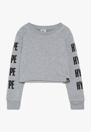 KIDS CROP BLOCK - Sweater - grey