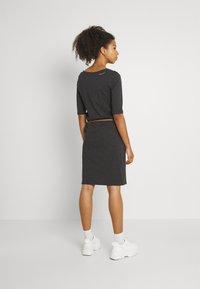 Ragwear - TAMILA  - Žerzejové šaty - dark grey - 2