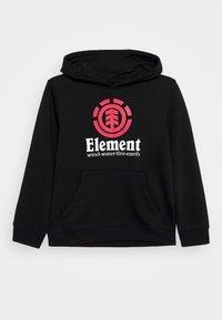 Element - VERTICAL HOOD BOY - Sweat à capuche - flint black - 0