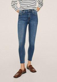 Mango - ISA - Jeans Skinny Fit - dark blue - 0