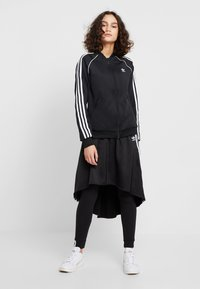 adidas Originals - ADICOLOR 3 STRIPES BOMBER TRACK JACKET - Training jacket - black - 1