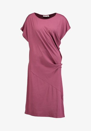 OCEAN DRESS - Jersey dress - boysenberry