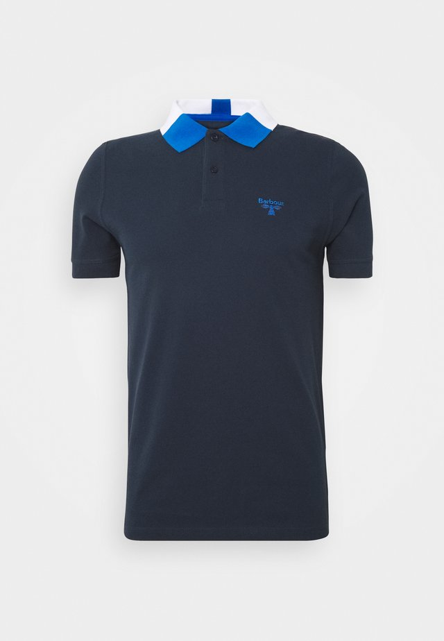 ROWAN TIPPED - Polo - navy
